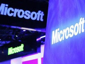 Microsoft signage