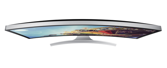 Samsung SD590c curved display