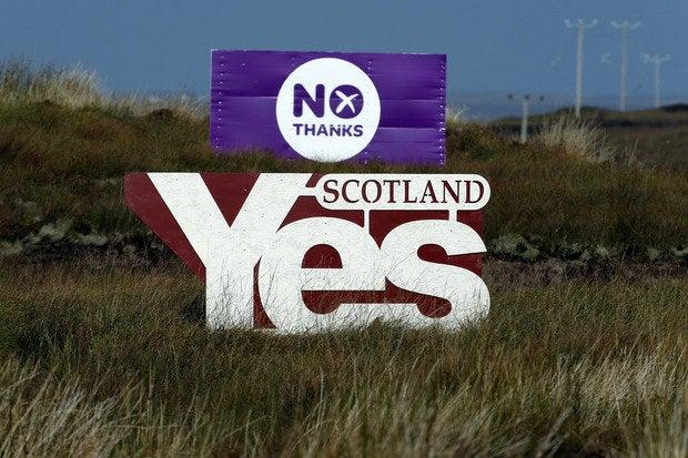 Scotland vote, 2014