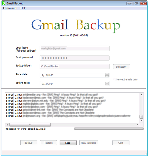 What would you do if you lost access to your Gmail account