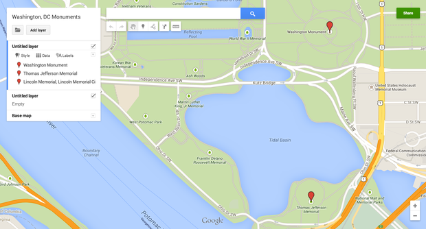 How to create custom maps with Google\'s MyMaps | Greenbot