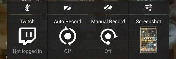 shield tablet recording