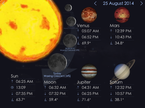 starwalk today view