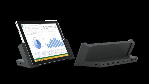 surface pro 3 dock front and back