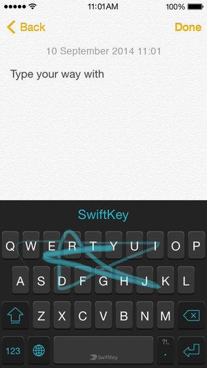 swiftkey screenshot 1