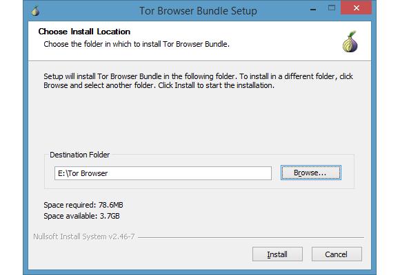tor browser bundle setup