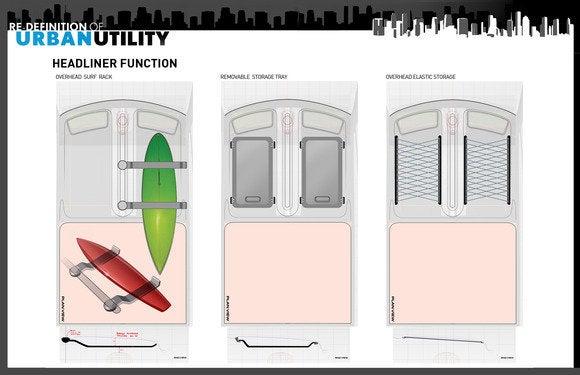 toyota u2 concept interior storage