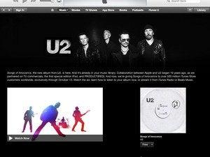 U2 on iTunes