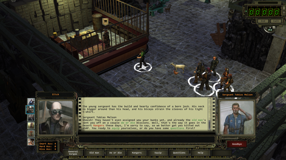 wasteland 2 conversation