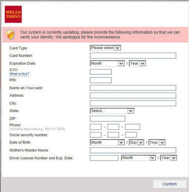 wells fargo avast screenshot