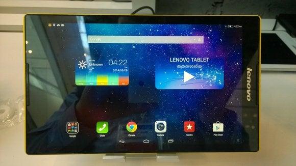 IDF Lenovo tablet