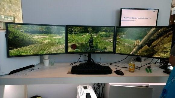 IDF 12K gaming multimonitor