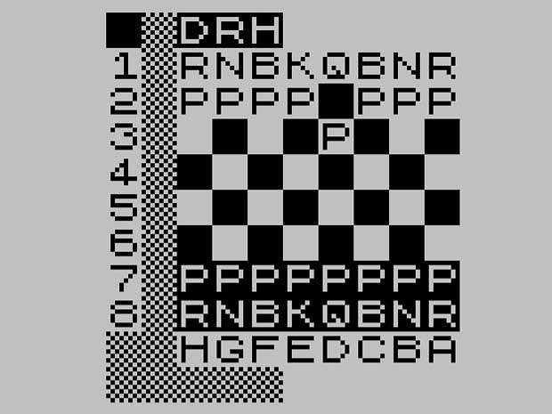 David Horne's 1K ZX Chess
