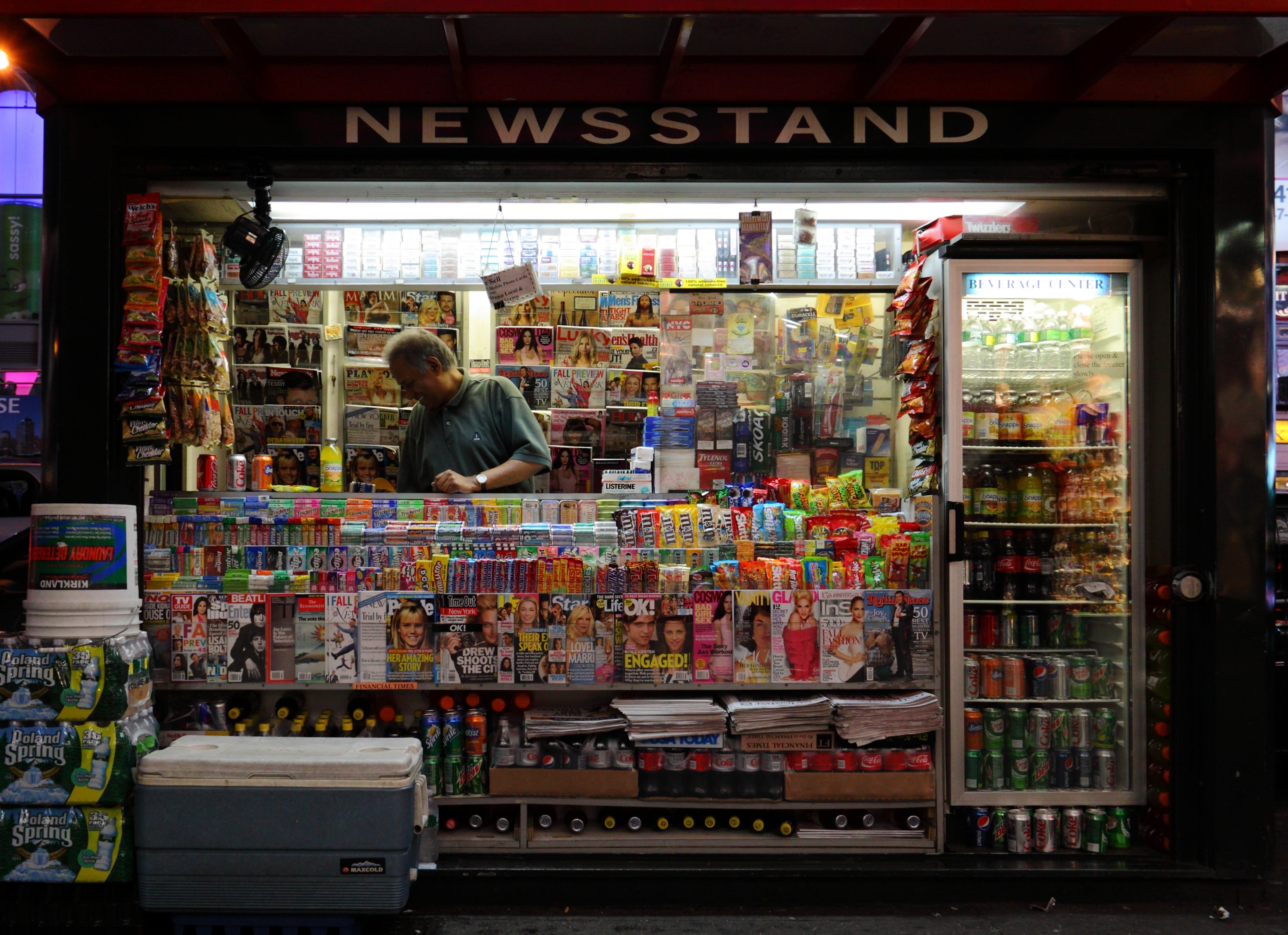 How to Open a Newsstand