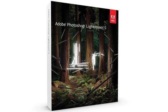 adobe photoshop lightroom 5 box