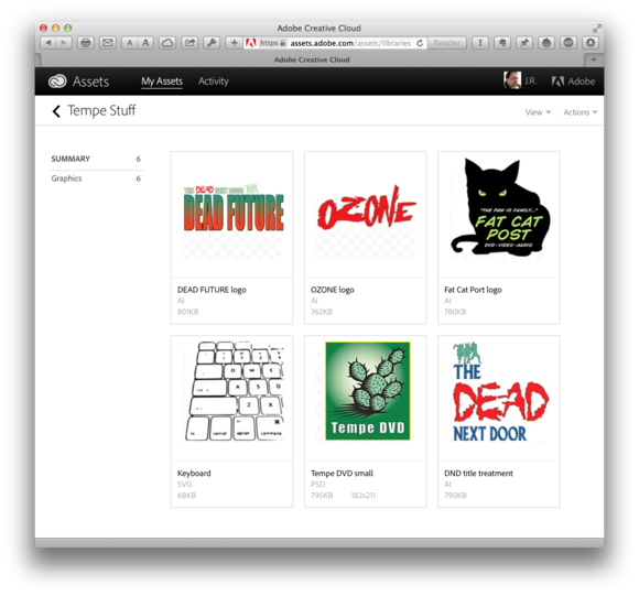 First Look At Creative Cloud Libraries Connecting Adobe S Desktop And Mobile Apps Macworld
