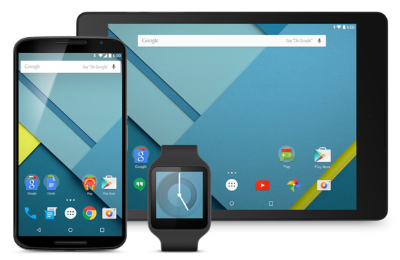 android lollipop preview