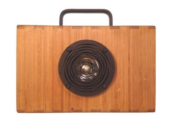 blueshift bamboo speakers