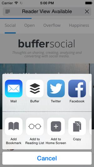 buffer sharing
