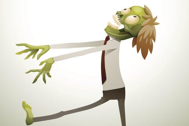 business zombie thinkstock