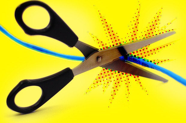 cord cable cutting