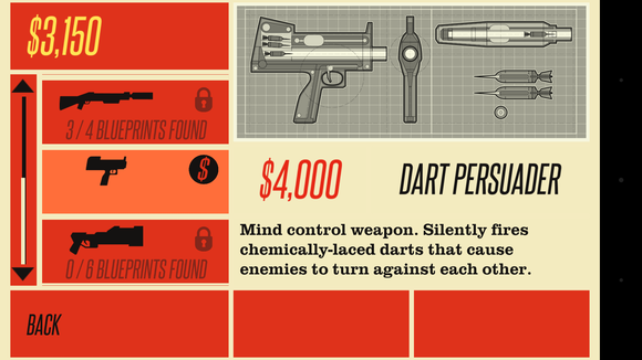 counterspy weapons