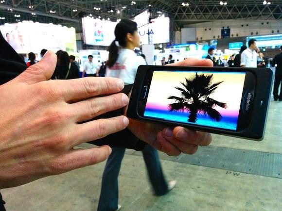 elliptic gesture smartphone