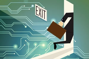 Exiting the computing business
