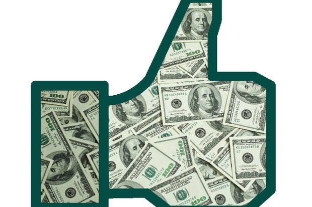 facebook ad dollars