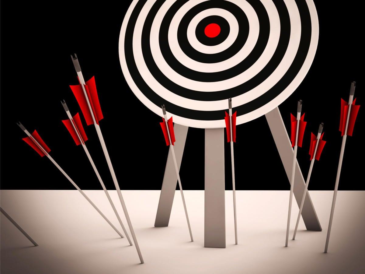 Missed target.