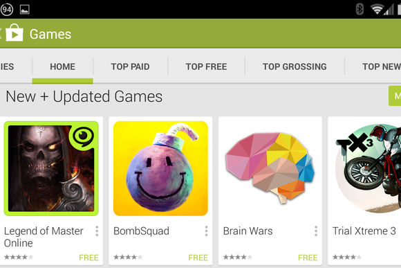 google play store games