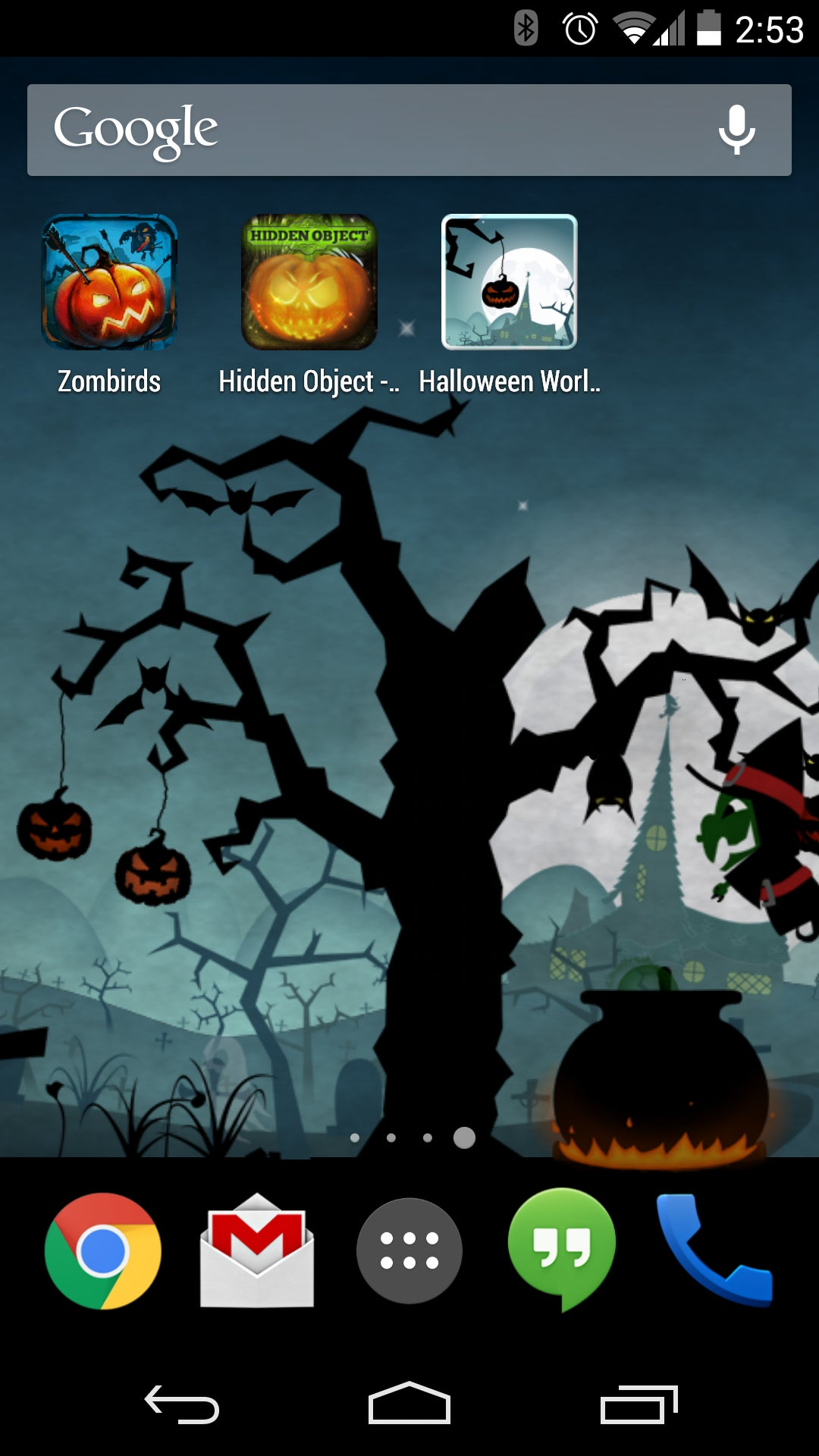 halloween live wallpaper see larger image
