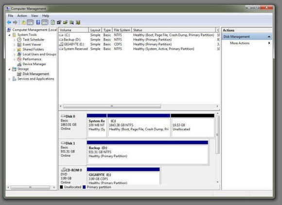 hdd partition