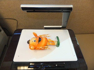 hp topshot laserjet pro m275 crazy crab on platen 5232644
