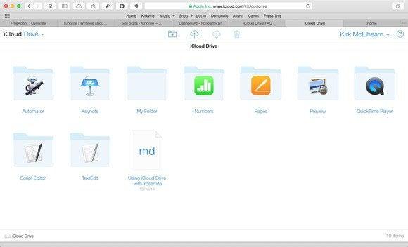 icloud drive web