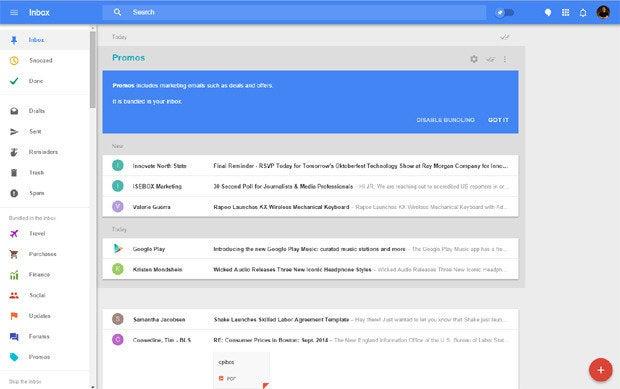Inbox Google Promos