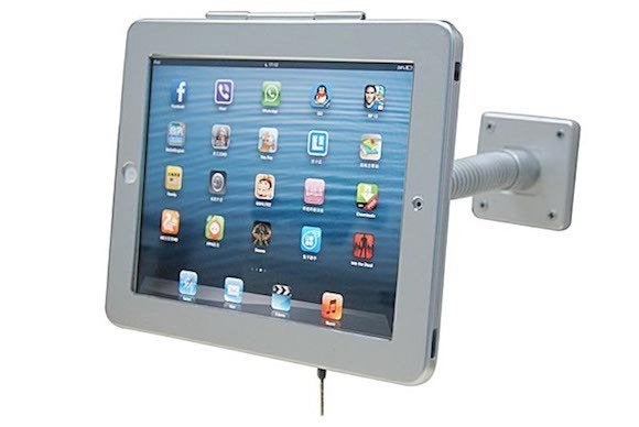 ipad air ipad 4 flex sleeve wall mount secure lock 2