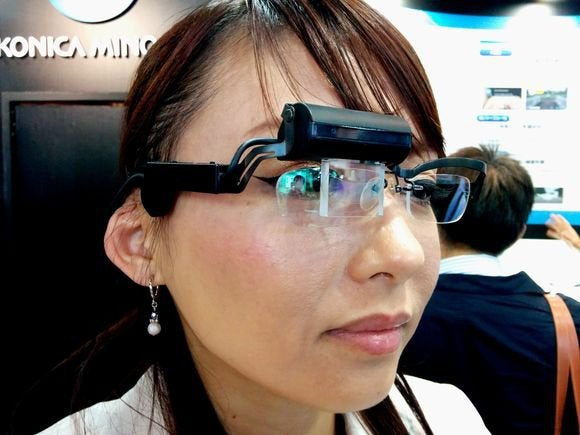 Peering Into The Future Of Displays Holographic Glasses