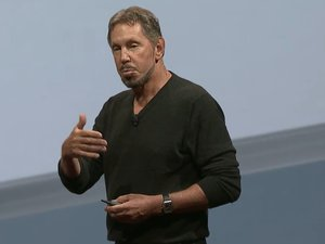 Larry Ellison at Openworld