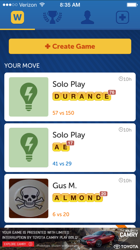 Can New Words With Friends Reignite Your Competitive Pseudo Scrabble
