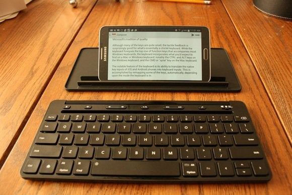 Microsoft Universal Mobile Keyboard Hands On Solid But