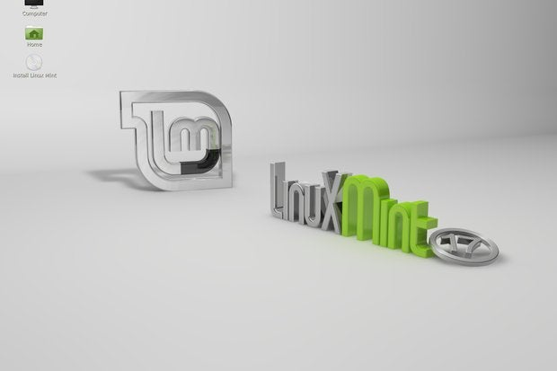 Linux Mint with the Cinnamon desktop