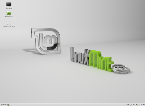 Linux Mint with the MATE desktop
