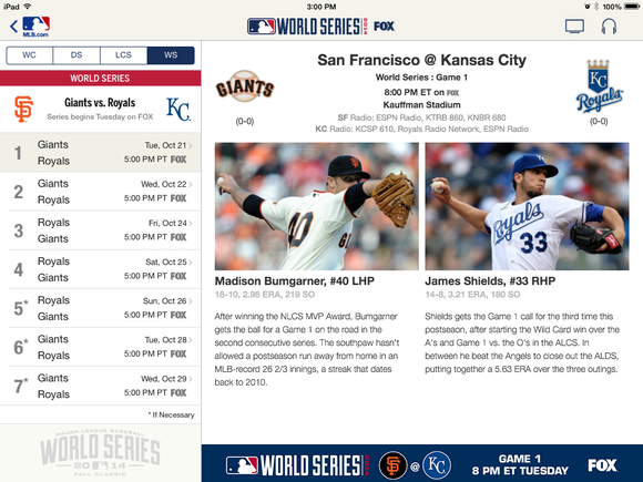 mlb world series app