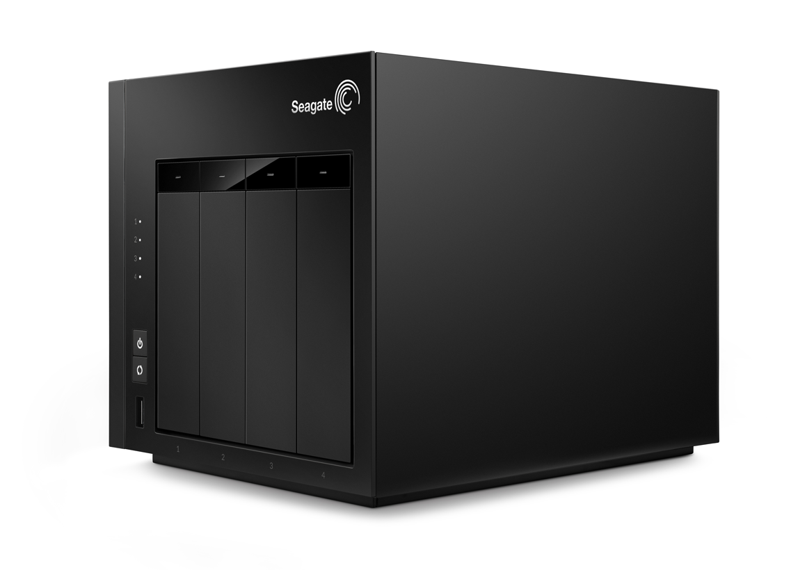 Seagate 4 bay nas review competent workgroup storage for Storage bay