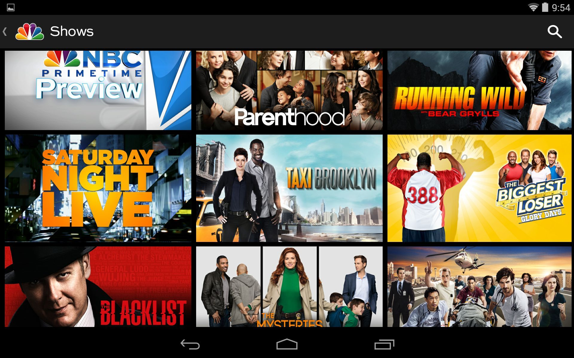Watch Tv For Free With These 10 Android Apps Itworld See Larger Image Nbc