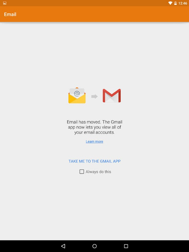 New Gmail App Android Lollipop Email App