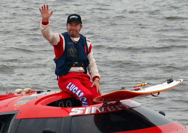 SilverHook Powerboats President Nigel Hook