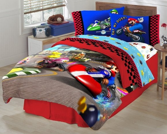 nintendo bed