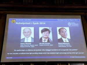 nobel prize physics 2014